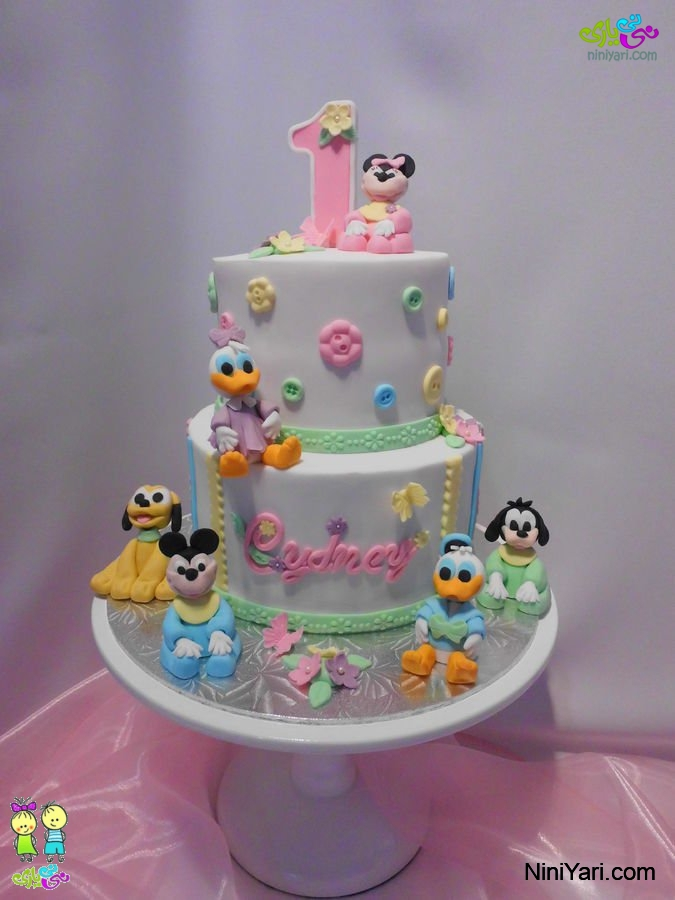 کیک تولد دختر بچه ها