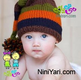 آموزش بافت کلاه نوزاد ، آموزش بافتنی کودک