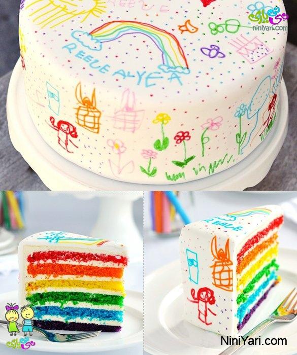 10 ایده ی تازه برای کیک تولد نی نی یاری