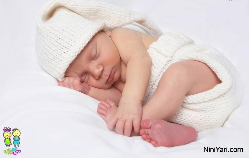 از خواب پریدن نوزاد