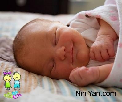 خواب نوزاد سالم