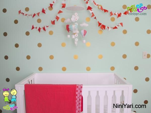 gold-polka-dot-nurseries
