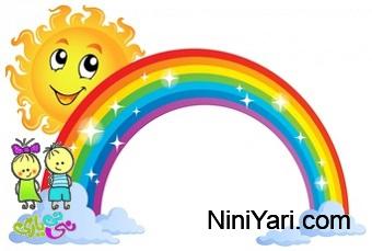 ترانه کودکانه رنگین کمان