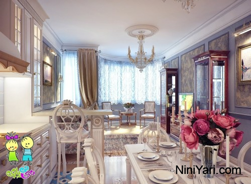 1-classical-kitchen-dining-room-decor