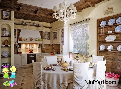 1-country-chic-kitchen-diner-design