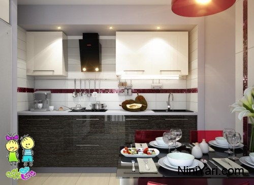2-red-white-black-modern-kitchen-dining-decor-style