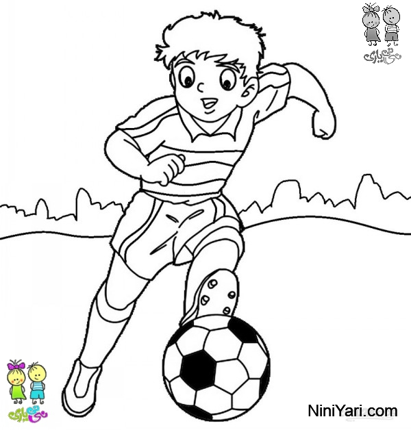 soccer coloring pages for preschoolers - photo#23