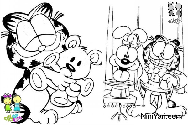 garfield-coloring-pages