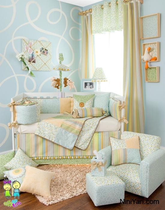 عکس اتاق نوزاد ، مدل دکوراسیون اتاق نوزاد