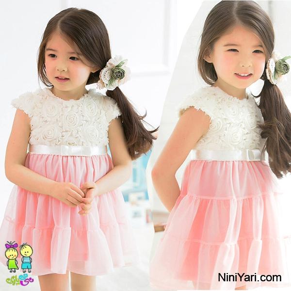 PROMOTION-2014-Summer-Kids-girls-dress-baby-Chiffon-Flowers-tutu-princess-Rose-Lace-dress-children-Pompon