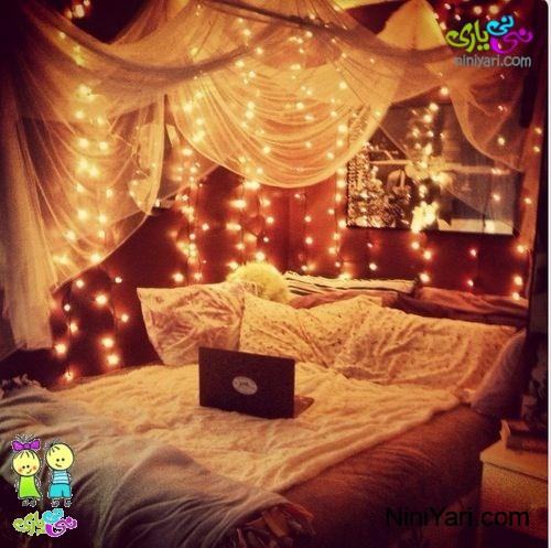bedroom-decoration-with-candles-lights-2