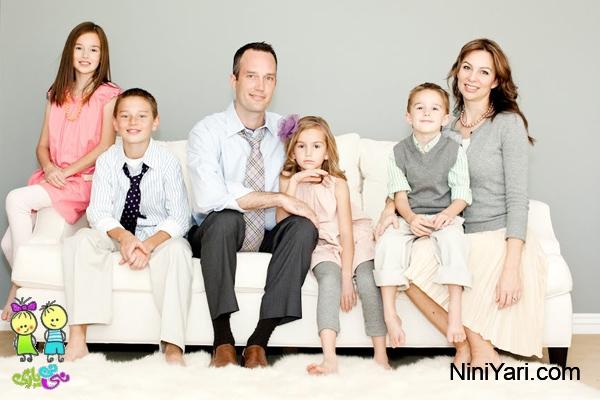 ایده عکس خانوادگی