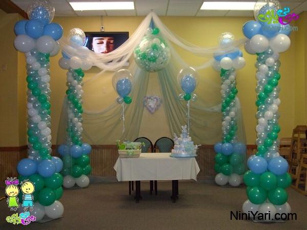 تزیین جشن تولد کودک