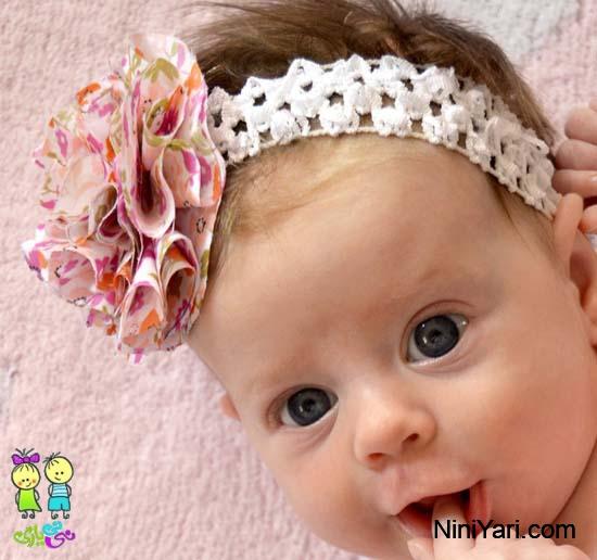 جدترین مدل های تل و هدبند نوزادی