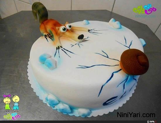 مدل کیک تولد کودک
