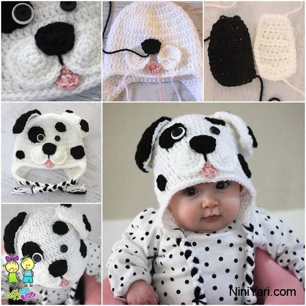 Cute-Dalmatian-Dog-Baby-Hat