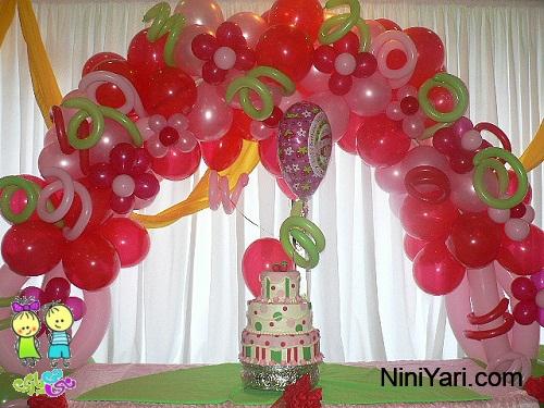 عکس-تزیین-بادکنک-برای-جشن-تولد-4