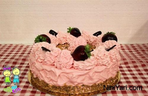 عکس-تزیین-کیک-برای-جشن-تولد-خانگی-7