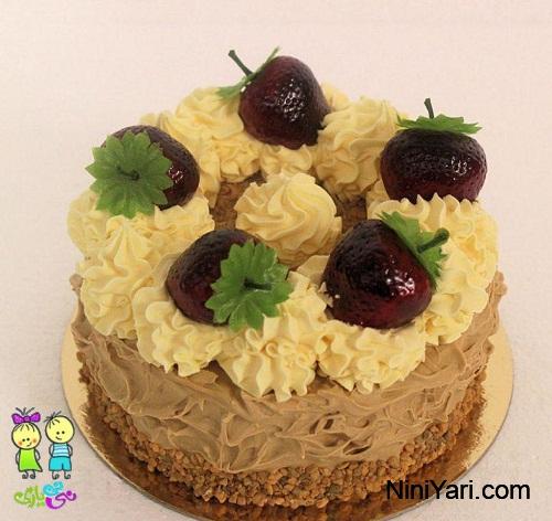 عکس-تزیین-کیک-برای-جشن-تولد-خانگی-8