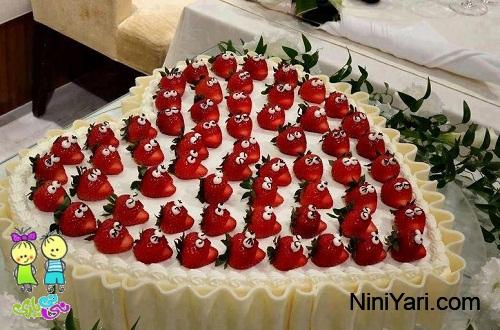 عکس-تزیین-کیک-برای-جشن-تولد-خانگی-9