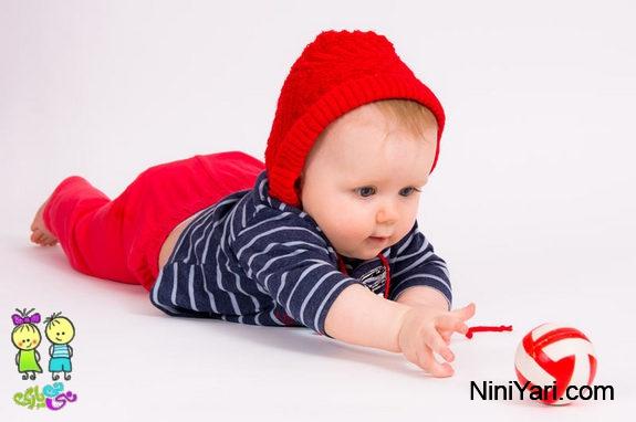 ایجاد خلاقیت در نوزاد