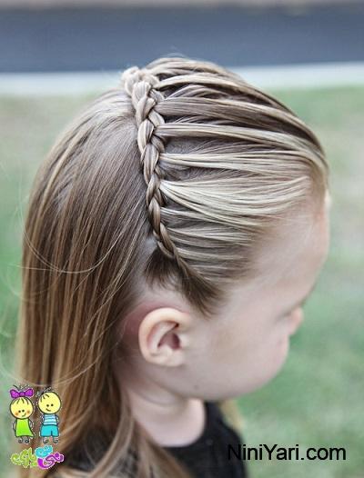 آموزش بافت موی کودک