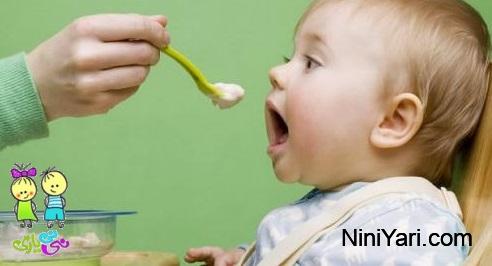 غذای کمکی کودک، از شیر گرفتن کودک
