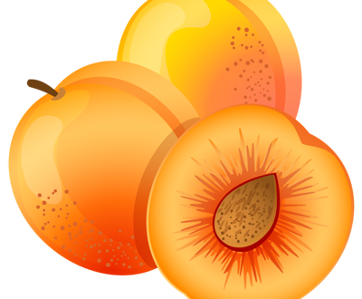 Large_Painted_Apricot_PNG_Clipart