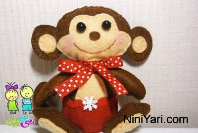 الگوس عروسک نمدی میمون، الگوی عروسک نمدی الگوس عروسک نمدی میمون، الگوی عروسک نمدی