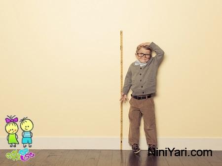 افزایش قد کودک ، کوتاه قدی در بچه ها ، رشد کودک