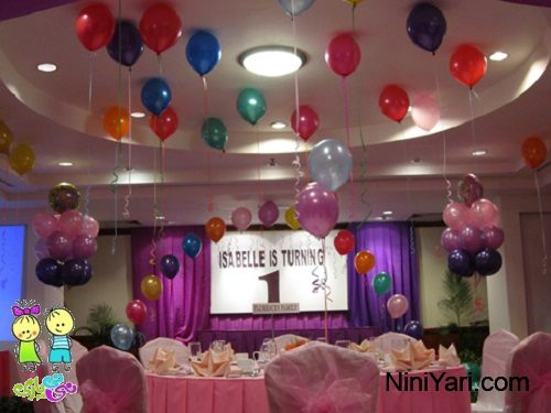Helium balloon Decor (1)