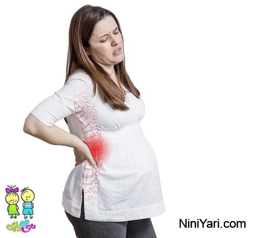 کمردرد بارداری ، کمردرد بعد از زایمان ، درمان کمردرد بارداری ، ورزش کمردرد بارداری