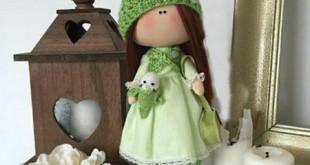 آموزش دوخت عروسک نمدی ، الگوی عروسک نمدی